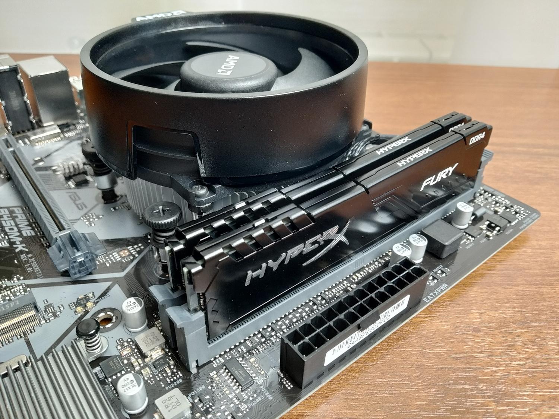 Сборка бюджетного игрового ПК на основе Ryzen 5 1600 AF и GeForce GTX 1050 Ti